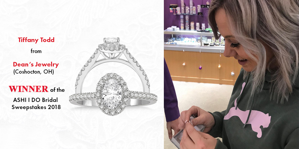 ASHI Announces the Winner for the I DO Bridal Sweepstakes – Dean's