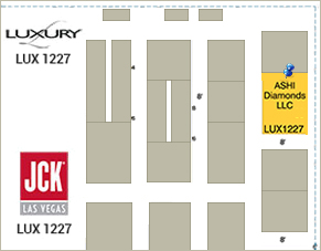 Luxury/JCK Show Map
