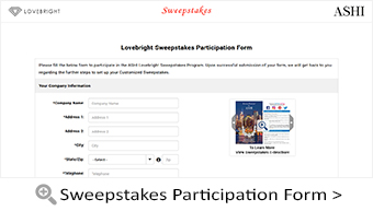 Lovebright Sweepstakes Participation Form