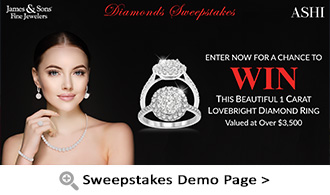 Sweepstakes Demo Page