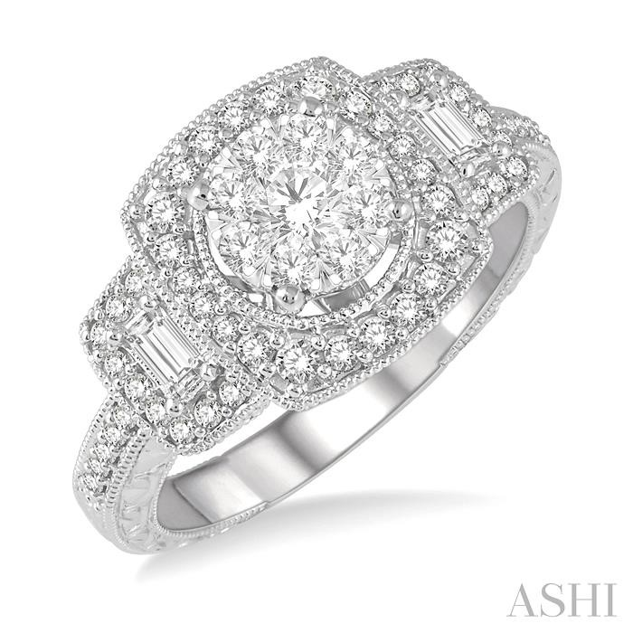 LOVEBRIGHT DIAMOND ENGAGEMENT RING