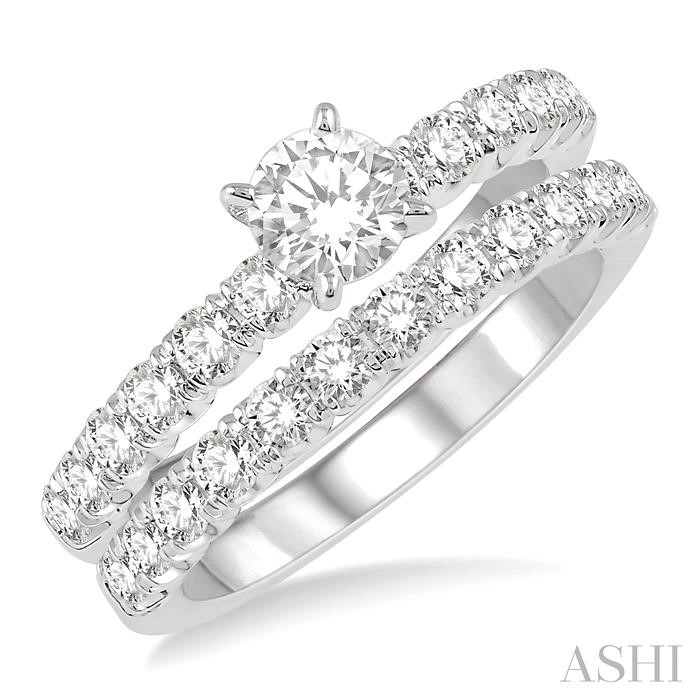 ENDLESS EMBRACE DIAMOND WEDDING SET
