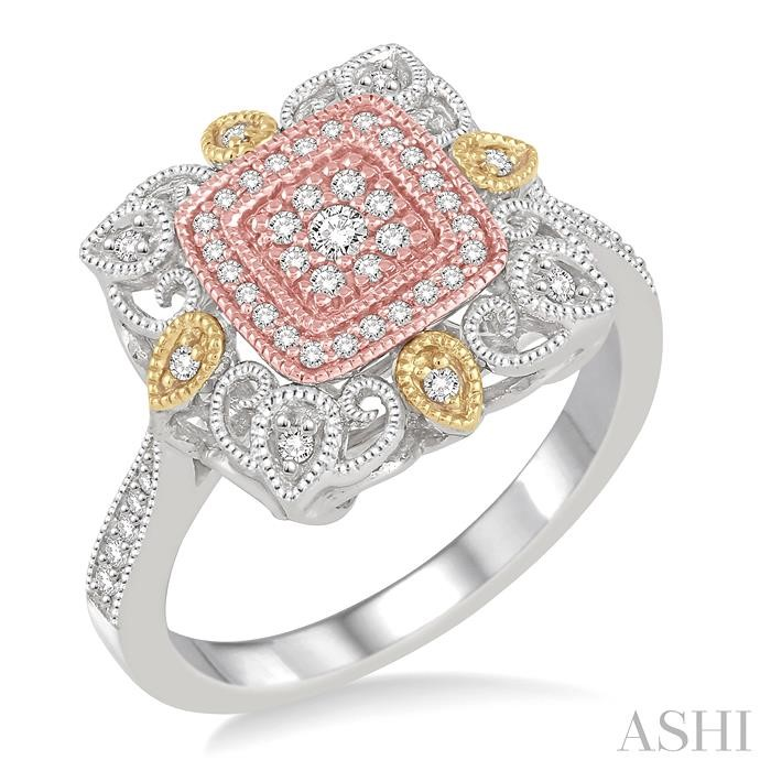 FLOWER SHAPE DIAMOND RING