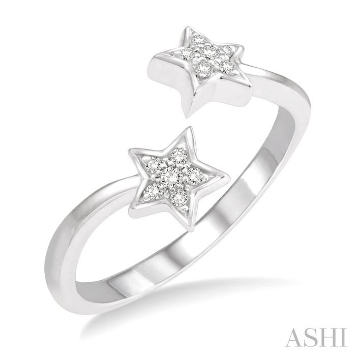 TWIN STAR DIAMOND RING