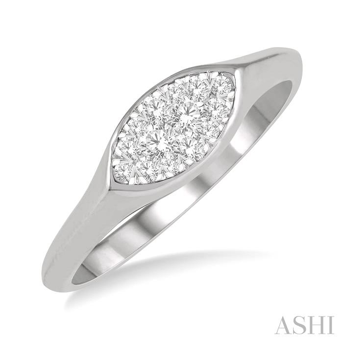 MARQUISE SHAPE LOVEBRIGHT DIAMOND RING