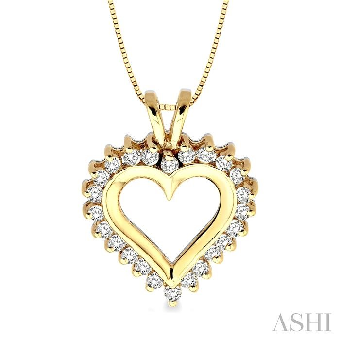 HEART DIAMOND PENDANT