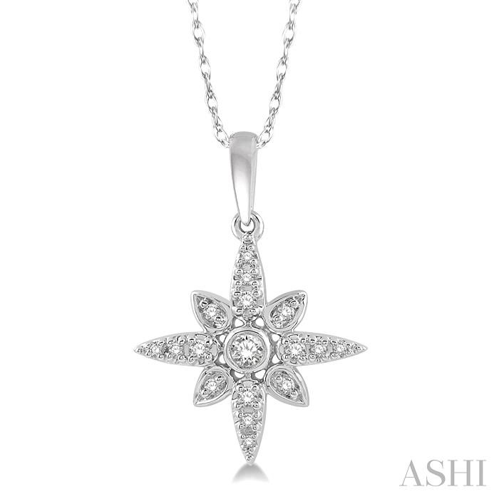 SUNBURST DIAMOND PENDANT