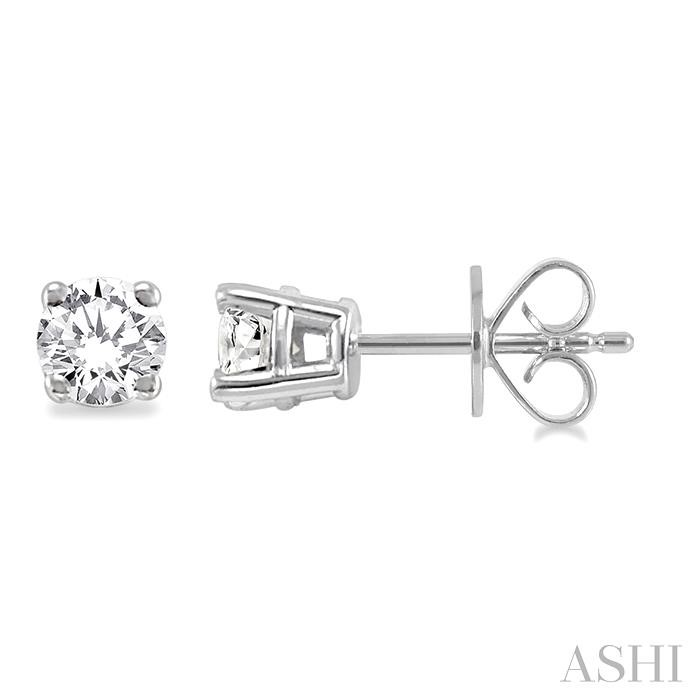 STUD DIAMOND EARRINGS