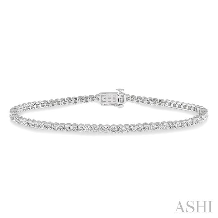 DIAMOND MIRACLE PLATE BRACELET