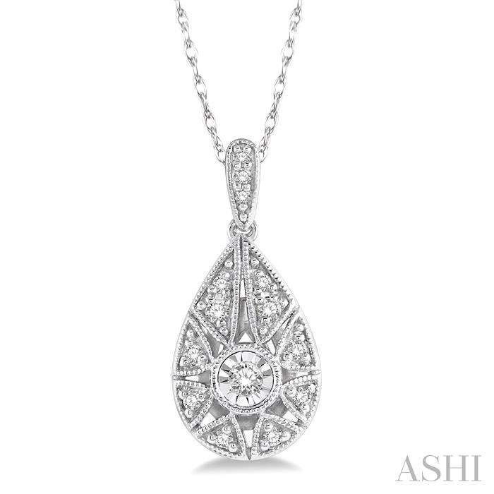 DIAMOND PEAR SHAPE PENDANT
